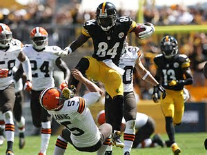 Antonio Brown Kicking