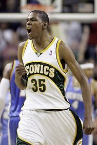 Kevin Durant Sonics
